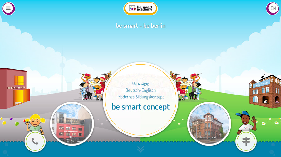 be smart academy Webseite